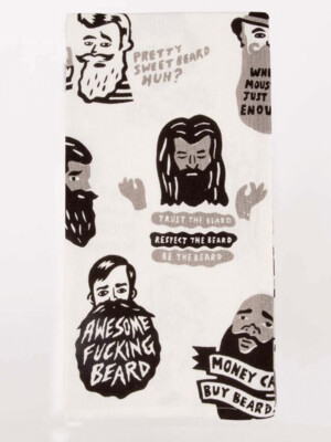 Beard Dish Towel /WW329