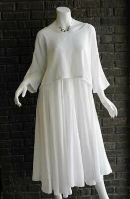 2 Piece Linen Dress /CW6190