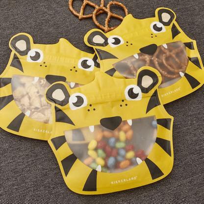 Tiger Zipper Bag set 3 /CU284