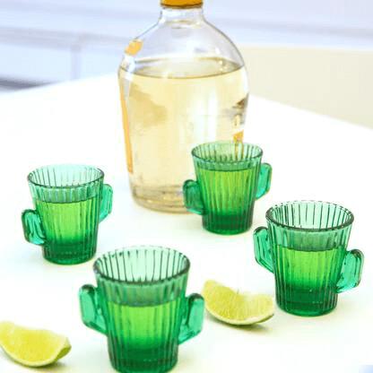 Cactus Shot Glasses /GL19