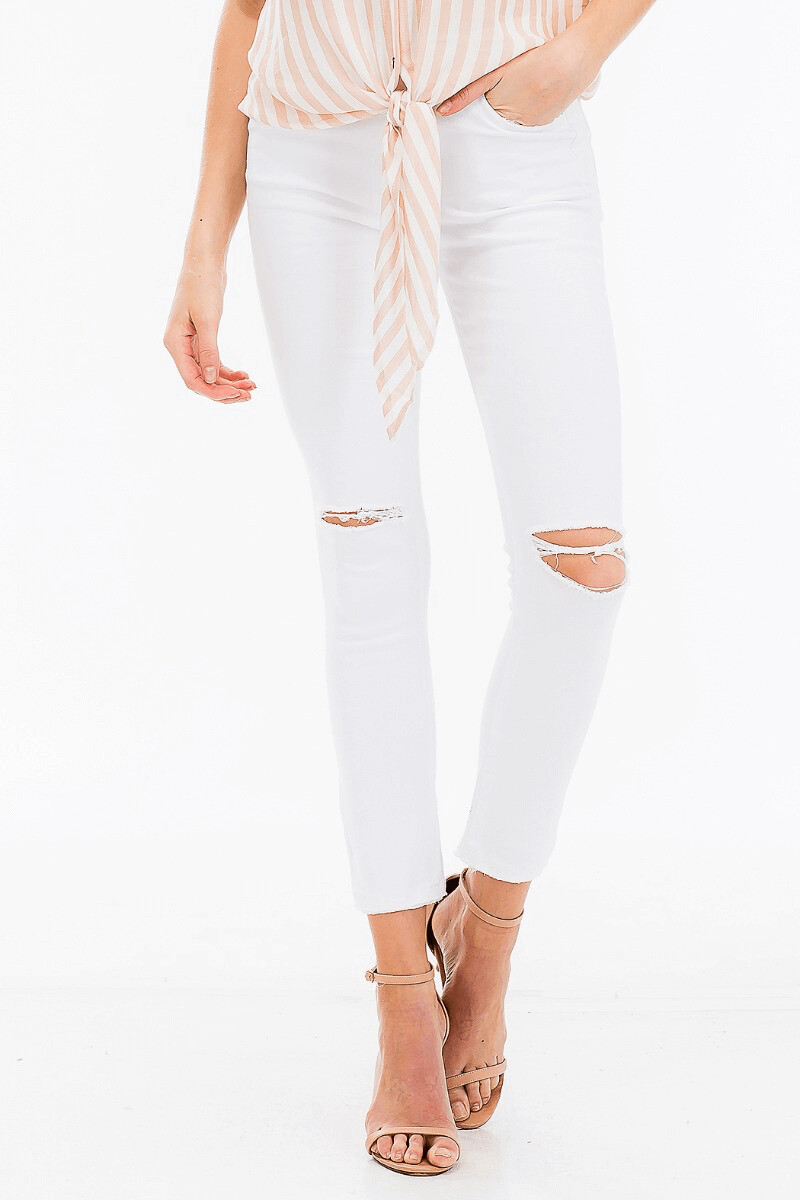 Olv72 Distressed Jeans