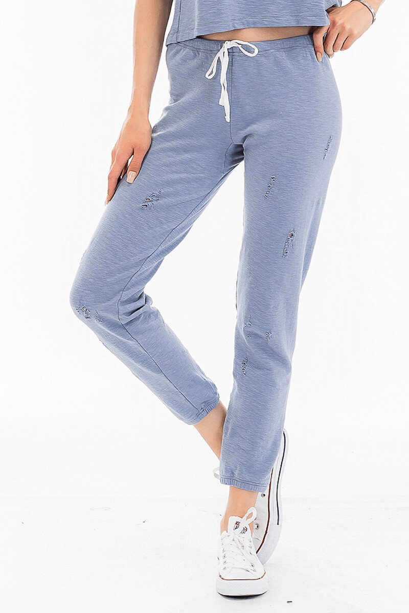 Olv221 bl swt pants
