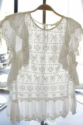 L81 Lace Eyelet Top