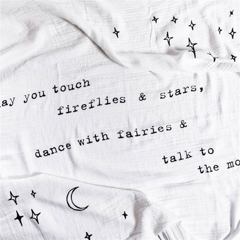Swaddle Blanket-Fireflies 47x47