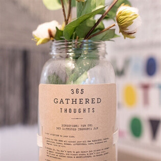 Gathered Thoughts Jar