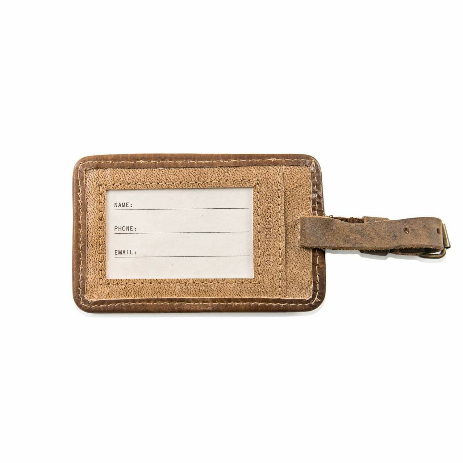 J.R.R. Tolkien Leather Luggage Tag