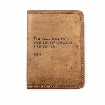 Hafiz Passport Cover /Lj158