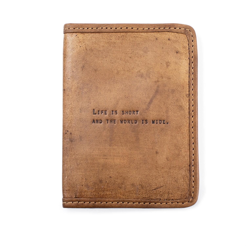 Life is Short Passport Cover /LJ157