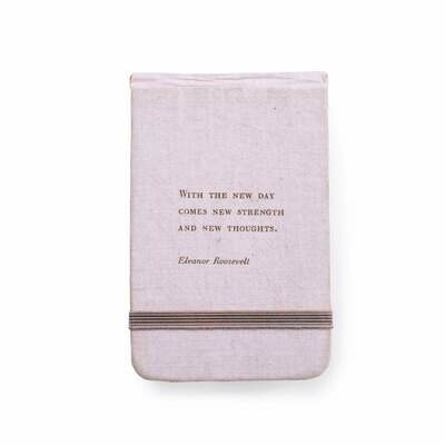 Eleanor Roosevelt fabric ntbk 3.5