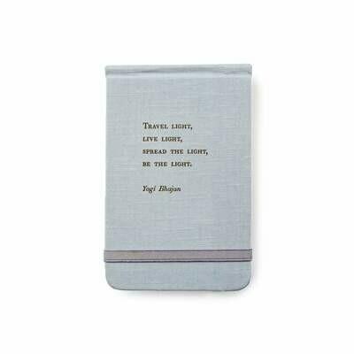 Yogi Bhajan fabric Ntbk 3.5