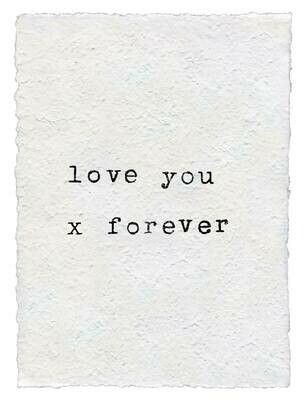 12x16 Love You Forever /111