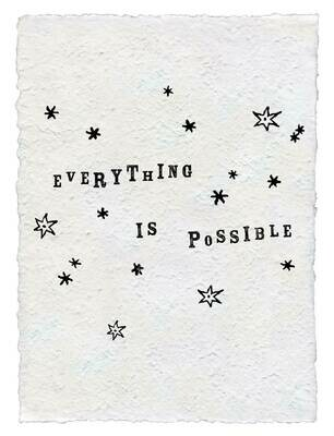12x16 Everything is Possible /HP131