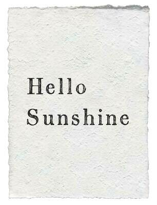12x16 Hello Sunshine /115