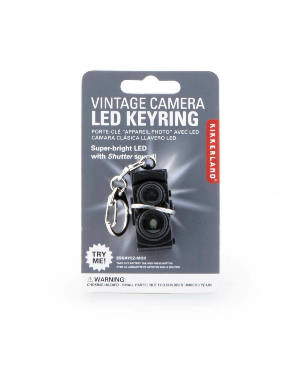 Vntg Camera Keychain /KRL24-CDU