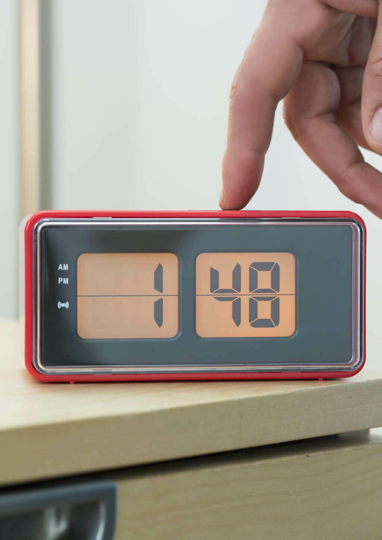 Digital Alarm Clock /AC25-RD