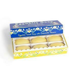 Egg White 6 Bar Box Set /540
