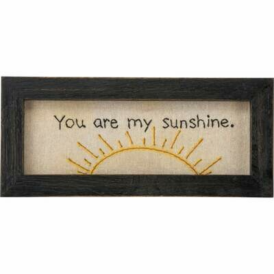 You are my Sunshine Stitchery /33513