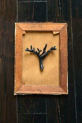 """8"""" twig wall hook"""