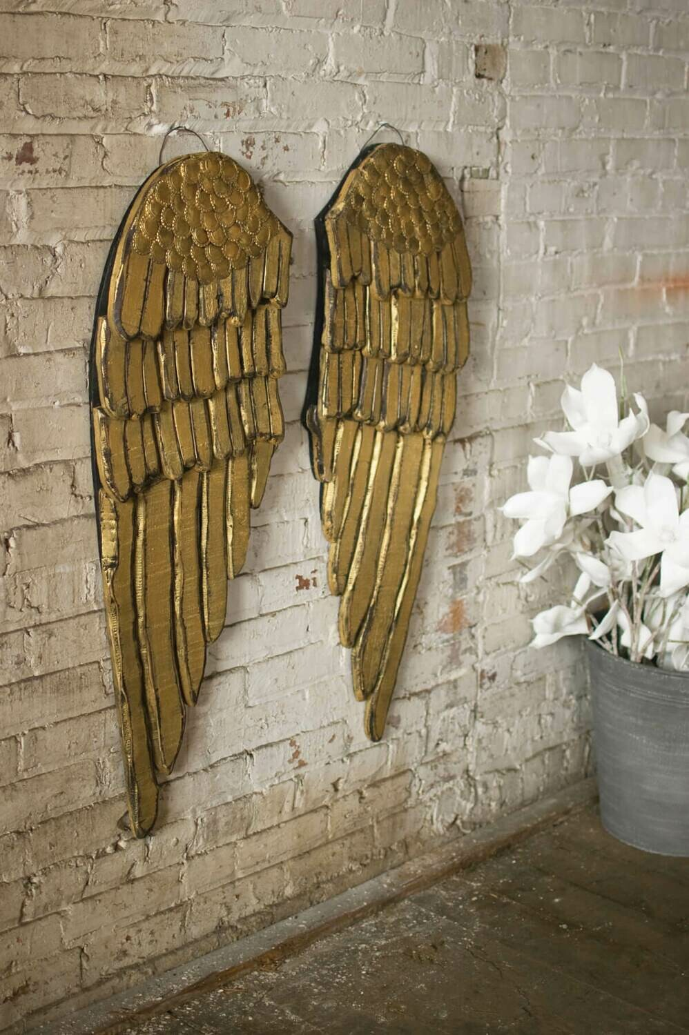 Set2 Wooden Angel Wings
