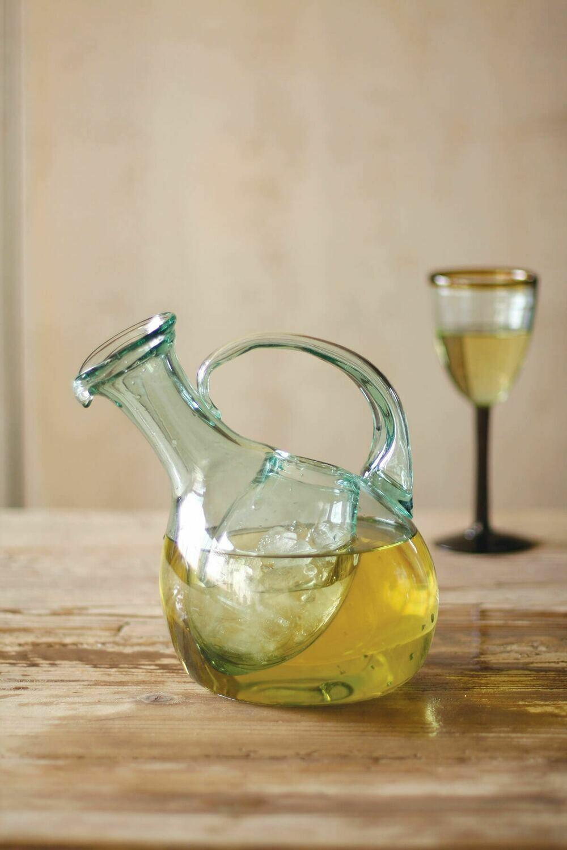 Wine decanter w/Ice Pocket