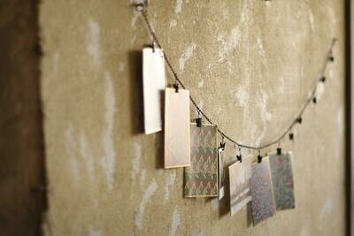 Metal Clip Chain Garland