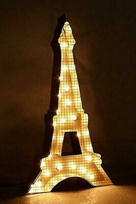 eiffel tower lit wall pc