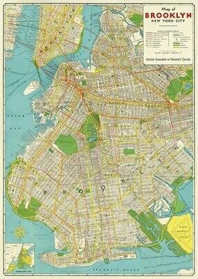 Brooklyn MapBrk /#33
