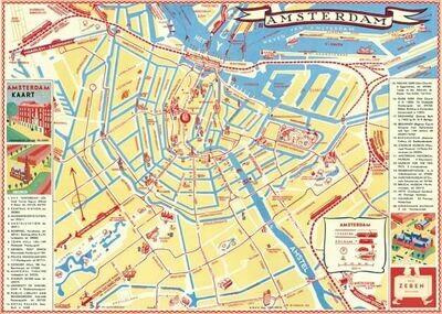 Amsterdam Map /#54