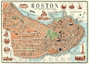 Boston Map MapBOS /#30