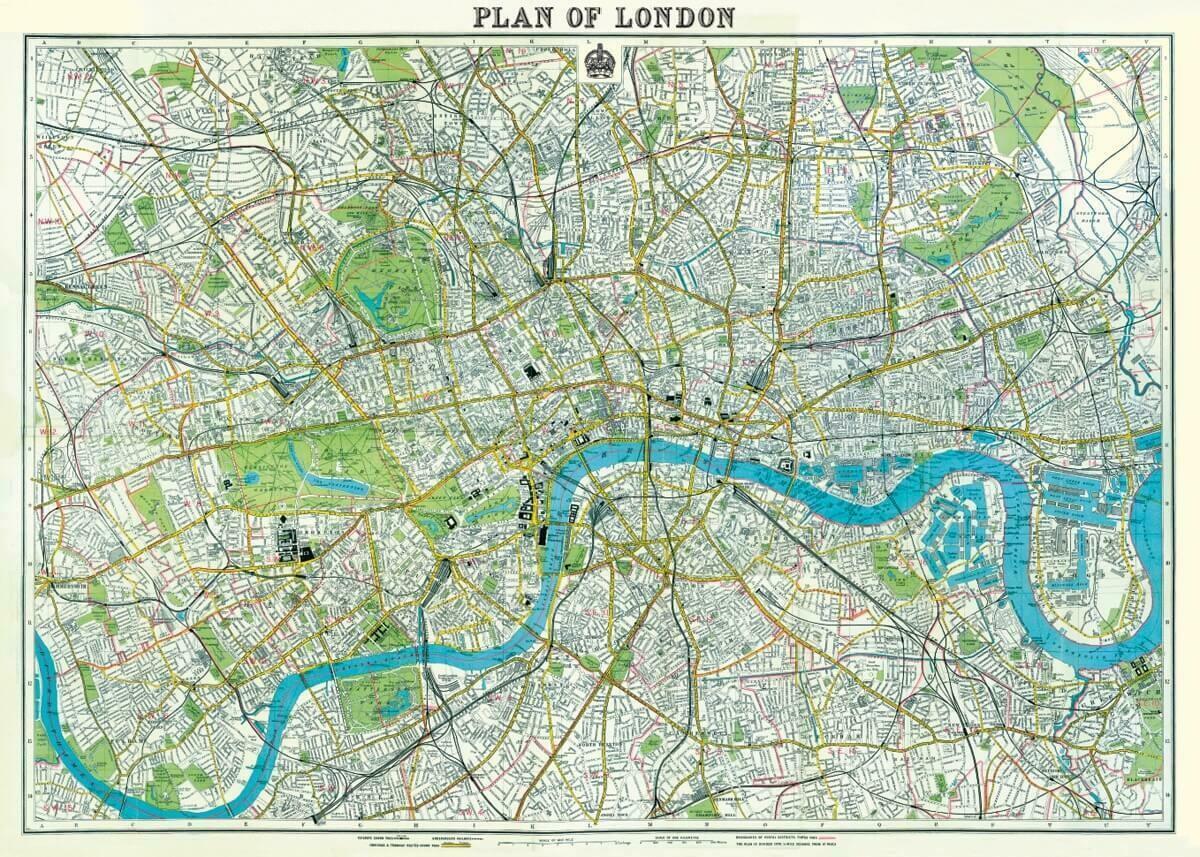 London Map-Lon2 /#1