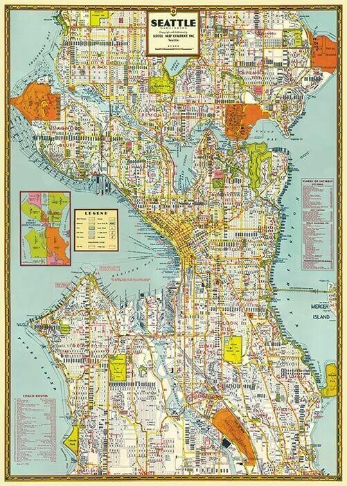 Seattle Mapsea /#31