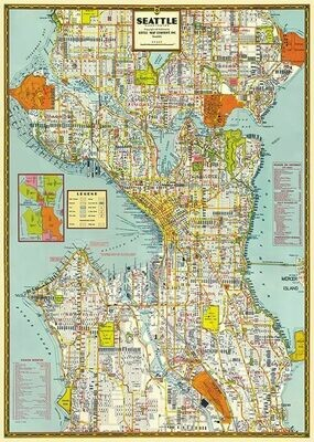 Seattle Mapsea /#31