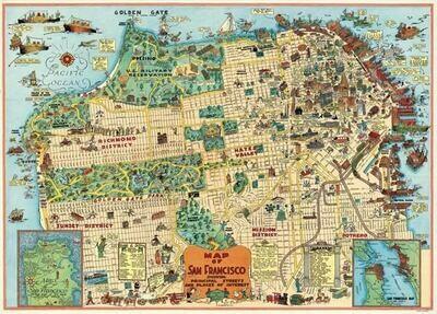 San Francisco Map-SF2 /#17