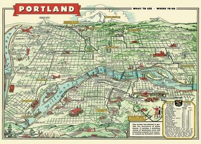 Portland Map /#46