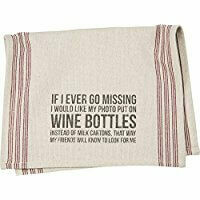 Towel-Wine Bottles /27182