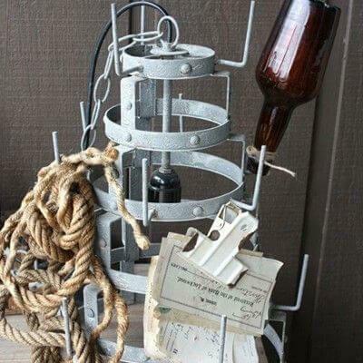 Bottle Dryer Lamp