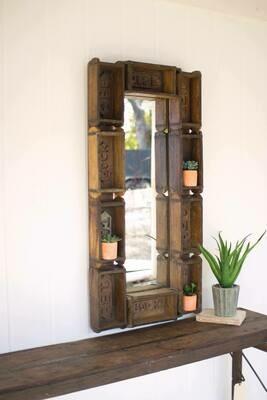 Antique Brick Mold Mirror
