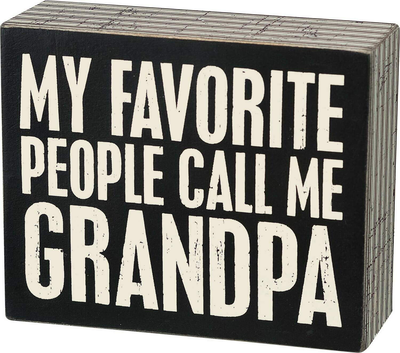 Call me Grandpa