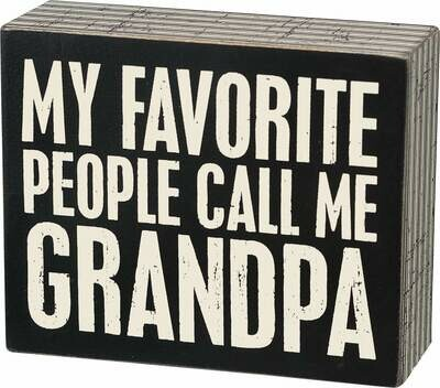 Call me Grandpa/21322
