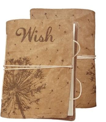 Wish Canvas Ntbk /35544