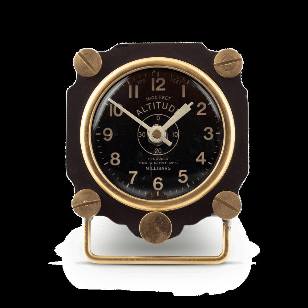 Altimeter Table Clock Blk /TCALTBK
