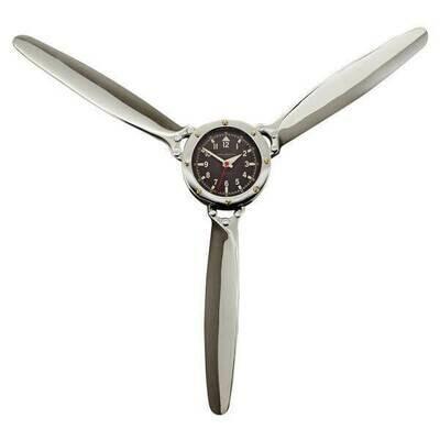 Aluminum Propeller Wall Clock