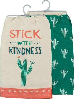2pc Cactus dishtowel set /39300