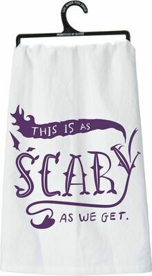 As Scary Dish Towel /25525