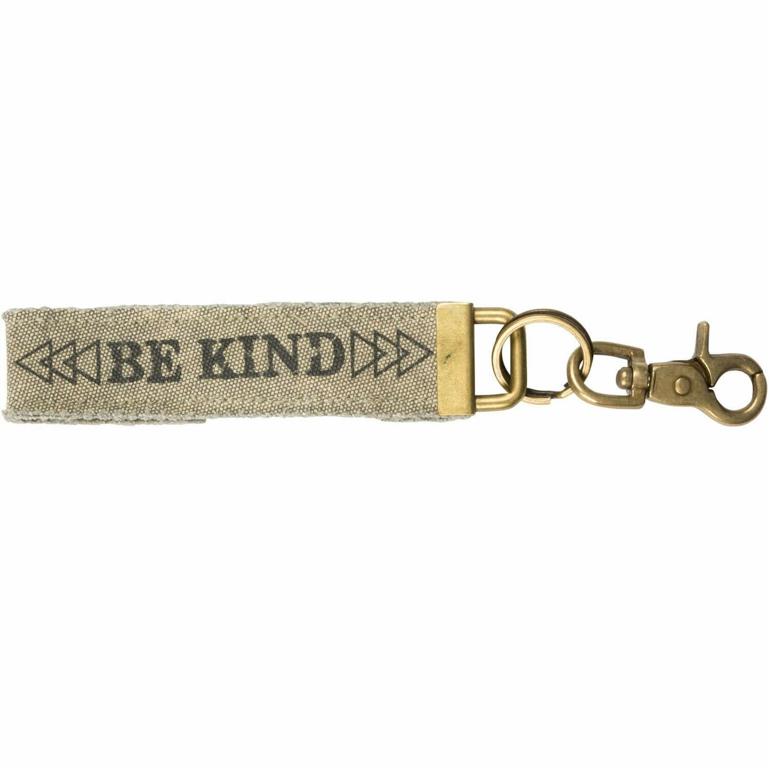 Be Kind Canvas Key Fob /36537