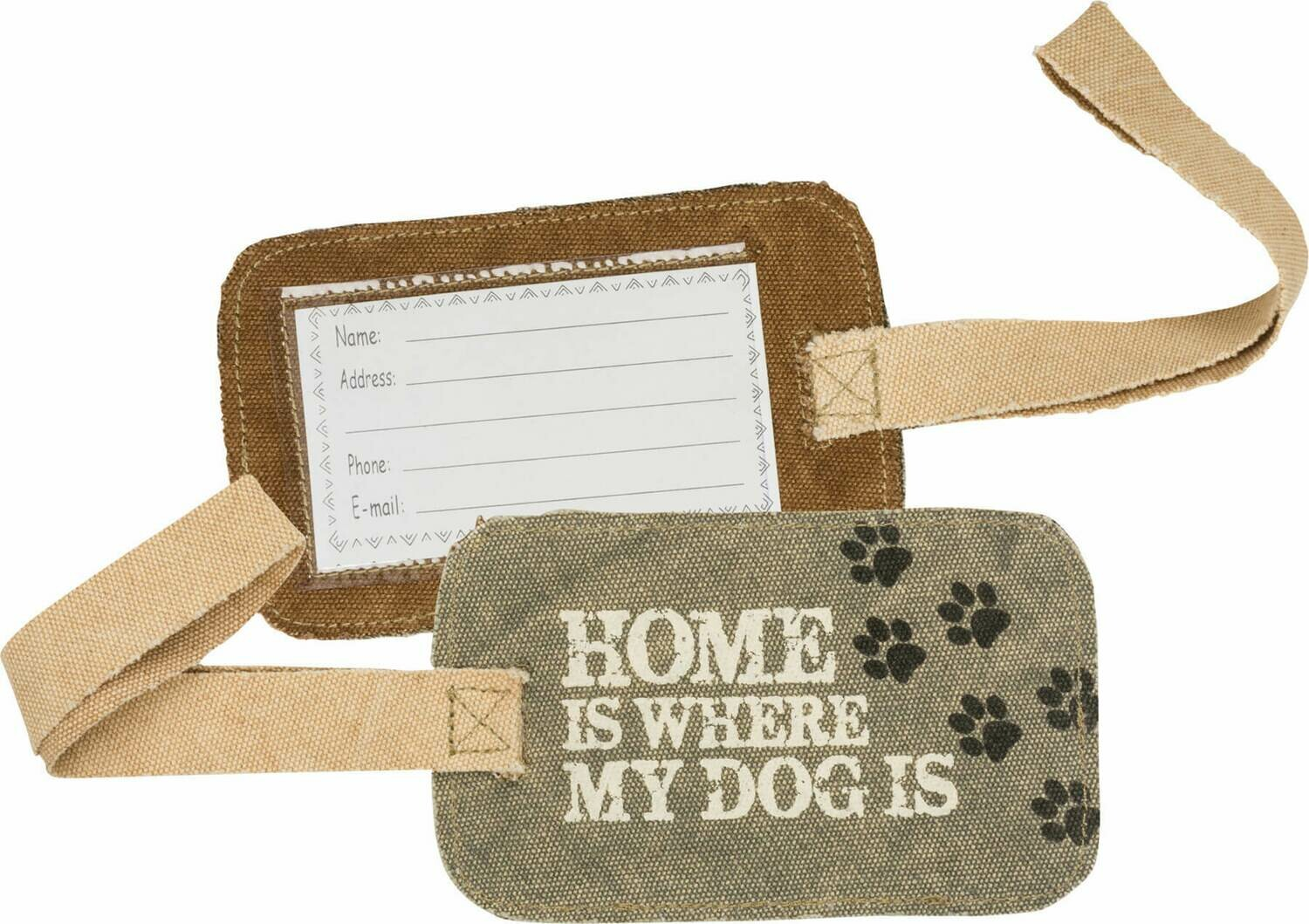 Dog is Luggage Tag /38044