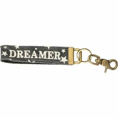 Dreamer Canvas Key Fob /36536