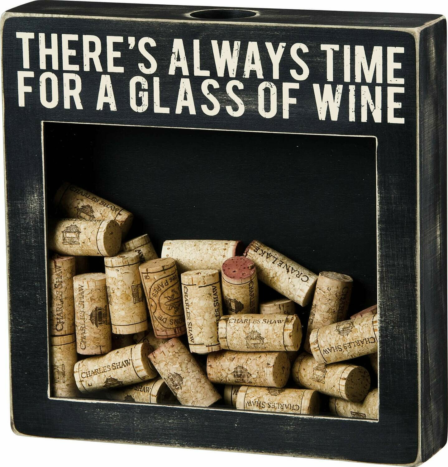 Glass of Wine cork keeper/24293