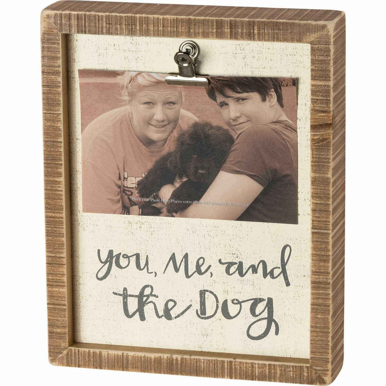 Frame-You,Me +Dog Frame /39012