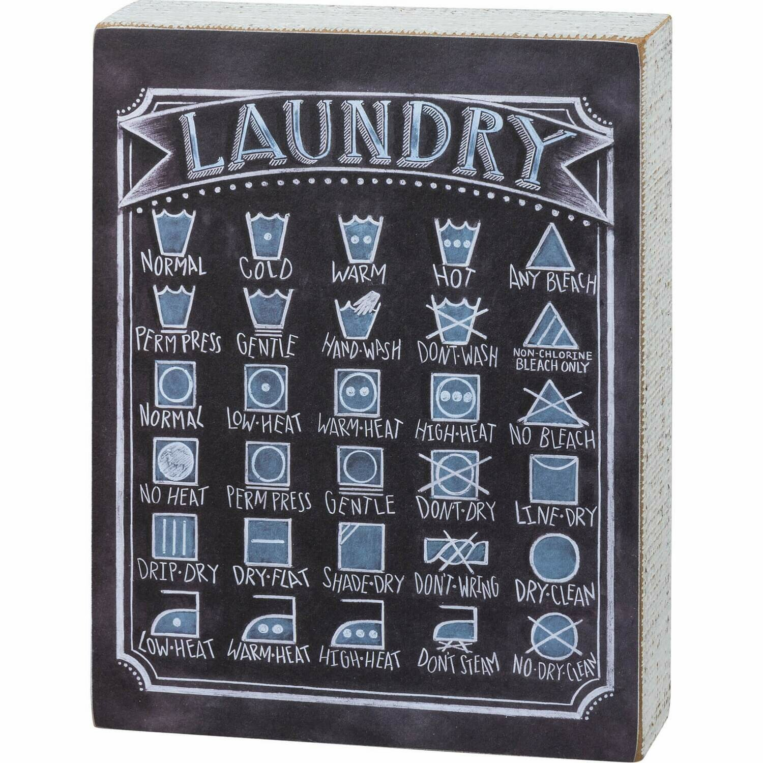 Laundry Sign /106831